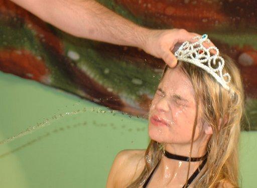 pissed on pissed off pretty princess Keysha